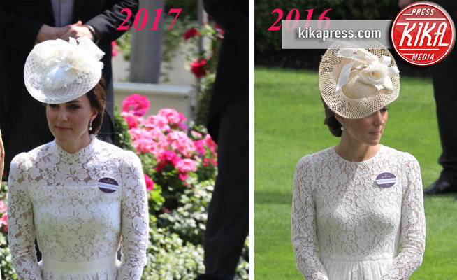 Kate Middleton - 20-06-2017 - Royal Ascot 2017: Kate Middleton, look che vince non si cambia!