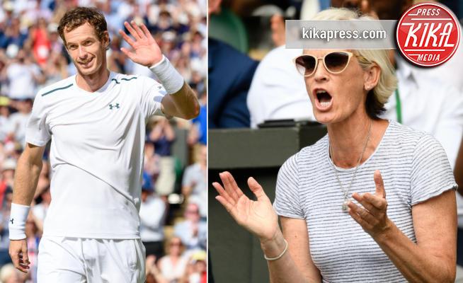 Judy Murray, Andy Murray - Londra - 10-07-2017 - La tifosa numero uno di Andy Murray è... sua mamma!