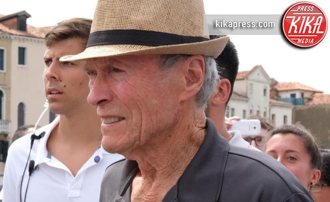 Clint Eastwood - Venezia - 10-08-2017 - Clint Eastwood a Venezia: al via le riprese del nuovo film