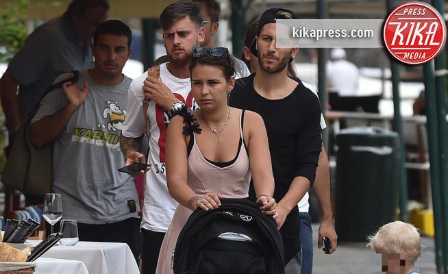 Matias Bertolacci, Andrea Bertolacci, Nicole Murgia - Portofino - 28-08-2017 - Liguria e famiglia: le ricette di Bertolacci per tornare al top