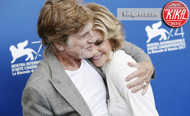 Robert Redford, Jane Fonda - Venezia - 01-09-2017 - Venezia74: Jane Fonda e Robert Redford ancora insieme