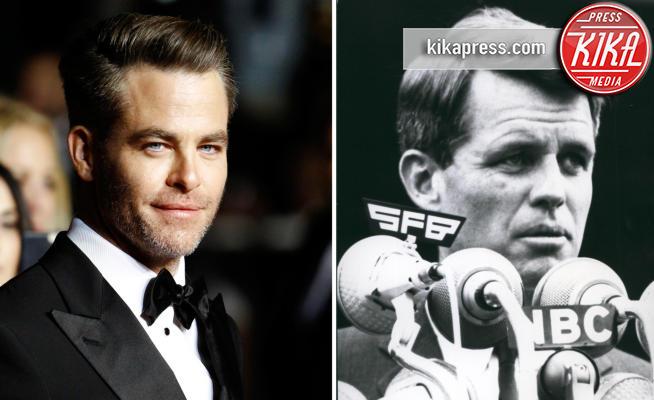 Chris Pine, ROBERT KENNEDY - 06-09-2017 - Chris Pine sarà Robert Kennedy in un serie TV prodotta da Sony