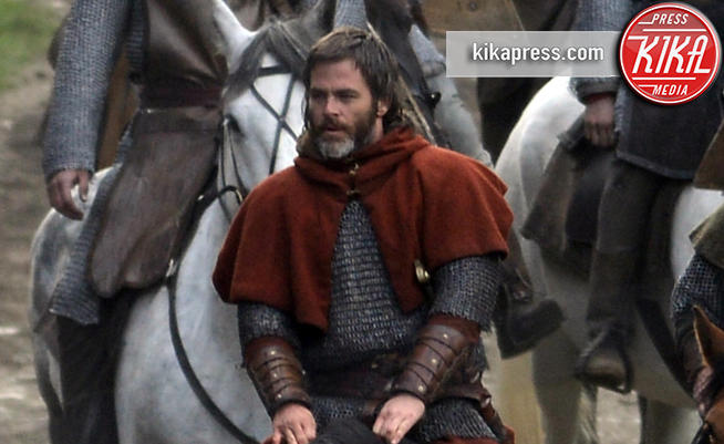 Chris Pine - Glasgow - 03-10-2017 - Outlaw King, Chris Pine è Roberto I di Scozia