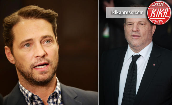 Harvey Weinstein, Jason Priestley - Los Angeles - 21-12-2017 - Brandon di Beverly Hills 90210: