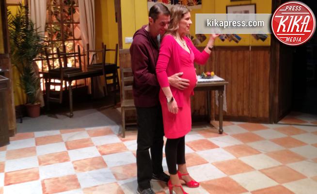 Monica Regledi, Blas Roca Rey - Roma - 10-01-2018 - La nuova dolce attesa di Blas Roca Rey e Monica Regledi