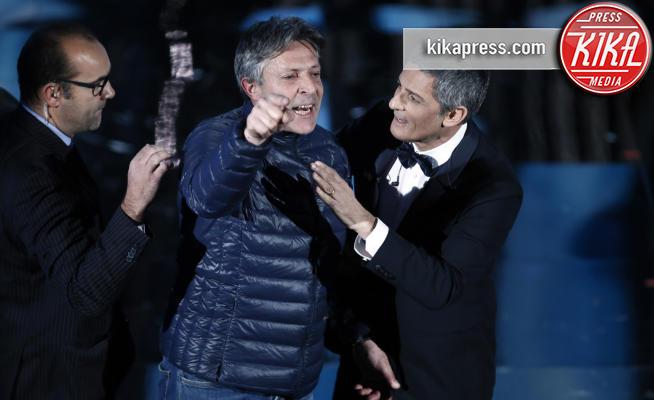 Rosario Fiorello - Sanremo - 06-02-2018 - Sanremo 2018, si parte con un'invasione sul palco