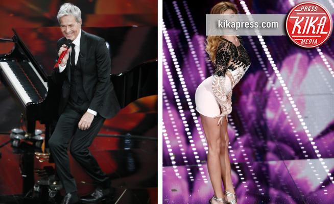 Sanremo: Claudio Baglioni, l'esilarante imitazione di Belen
