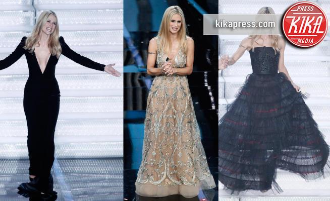 Michelle Hunziker - 10-02-2018 - Sanremo 2018: per Michelle Hunziker il palco è una passerella