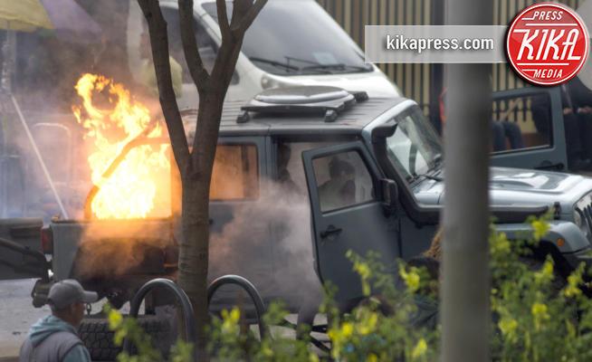 Bogota - Bogota - 10-02-2018 - Bogotà messa a ferro e fuoco per Mile 22