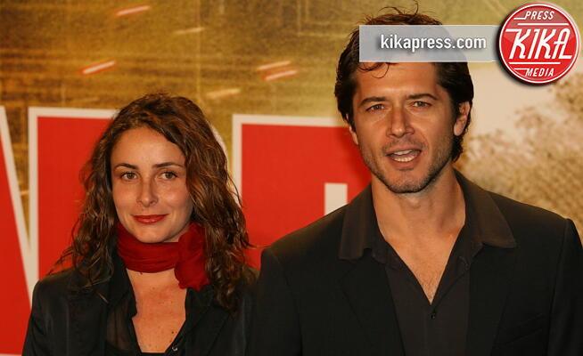 Angelica Riboni, Ettore Bassi, fidanzata - Roma - 15-10-2007 - La moglie di Ettore Bassi: