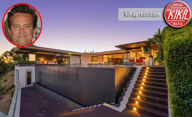 Casa Matthew Perry - Hollywood - 21-03-2018 - Il panorama più incredibile tra le case vip? Senza dubbio il suo