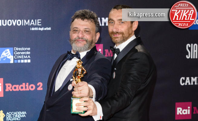 Manetti Bros - Roma - 22-03-2018 - David di Donatello 2018, manita di Ammore e Malavita