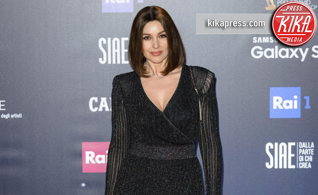Monica Bellucci - Roma - 21-03-2018 - David di Donatello 2018, è la notte delle stelle sul red carpet