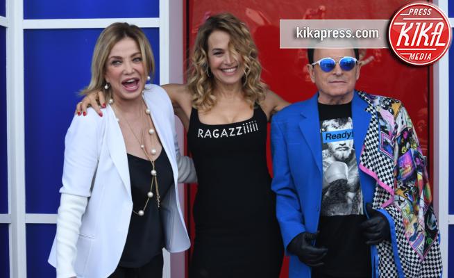 Simona Izzo, Barbara D'Urso, Cristiano Malgioglio - Roma - 16-04-2018 - Grande Fratello: i baci saffici tra due ex concorrenti