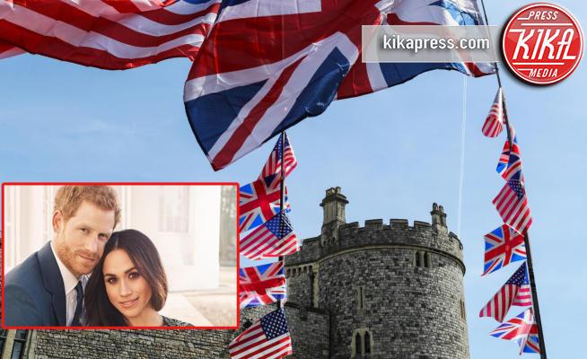 Windsor, Meghan Markle, Principe Harry, Atmosphere - Windsor - 18-05-2018 - Harry e Meghan oggi sposi: miss Markle ora è duchessa del Sussex