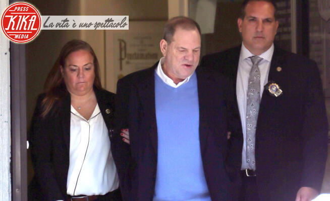 Harvey Weinstein - New York - 25-05-2018 - Harvey Weinstein condannato a 23 anni di carcere