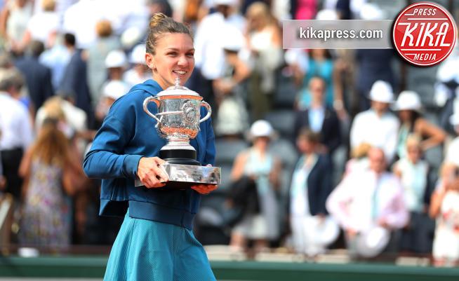 Simona Halep - Parigi - 09-06-2018 - Roland Garros, Simona Halep è la nuova regina di Parigi