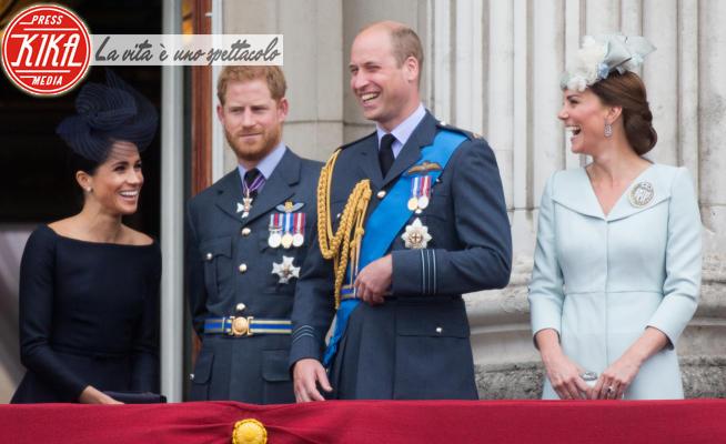 Meghan Markle, Principe William, Kate Middleton, Principe Harry - Londra - 10-07-2018 - Harry e Meghan contro tutti: