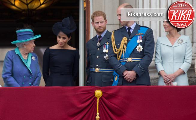 Meghan Markle, Regina Elisabetta II, Principe William, Kate Middleton, Principe Harry - Londra - 10-07-2018 - Megxit, ecco il comunicato della Regina!