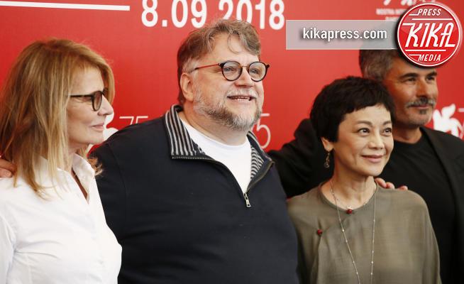 Sylvia Chang, Paolo Genovese, Nicole Garcia, Guillermo del Toro - Venezia - 29-08-2018 - Venezia 75: Guillermo Del Toro guida le nuove giurie