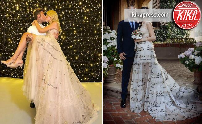 Fedez, Marica Pellegrinelli, Chiara Ferragni, Eros Ramazzotti - 28-06-2019 - Chiara Ferragni e Marica spose, chi lo indossa meglio?