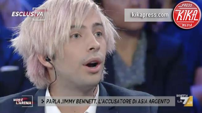 Asia Argento, Jimmy Bennett da Giletti: