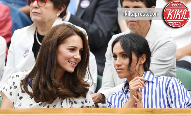 Meghan Markle, Kate Middleton - Wimbledon - 14-07-2018 -