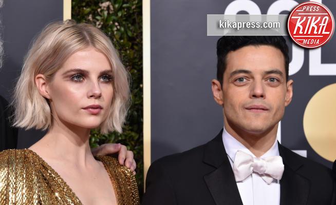 Lucy Boynton, Rami Malek - Beverly Hills - 06-01-2019 - Golden Globe 2019: Malek-Boynton e le coppie sul red carpet