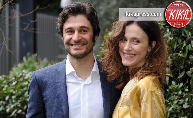 Lino Guanciale, Gabriella Pession - Roma - 11-02-2019 - La Porta Rossa: al via la seconda stagione su Rai2