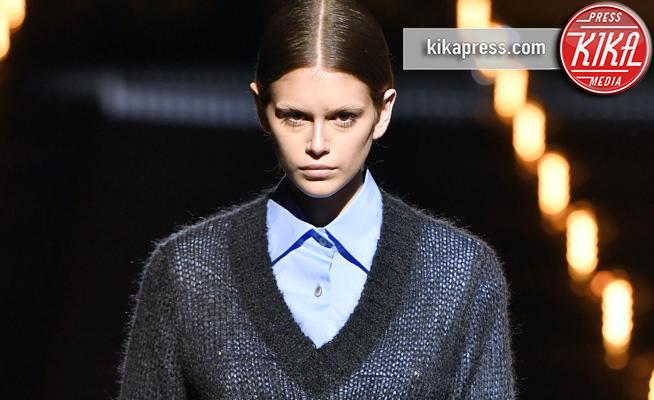 Kaia Gerber, Modella - Milano - 21-02-2019 - Milano Fashion Week: la sfilata di Prada