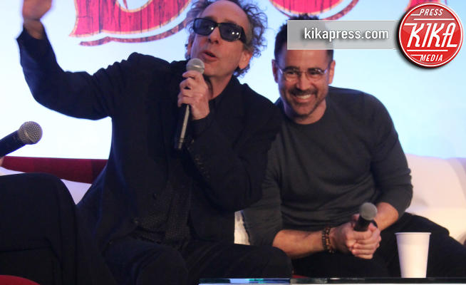 Tim Burton, Colin Farrell - Hollywood - 10-03-2019 - Tim Burton:
