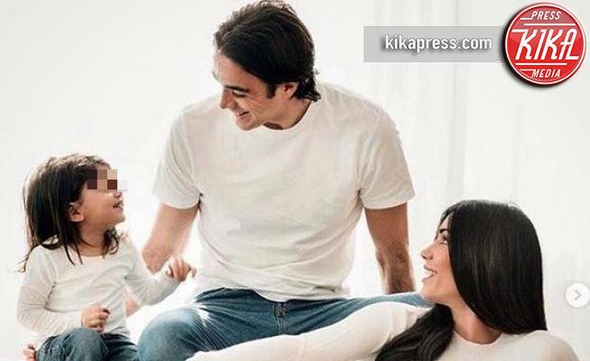 sofia matri, Alessandro Matri, Federica Nargi - Milano - 20-03-2019 - Federica Nargi e Alessandro Matri: le prime foto di Beatrice