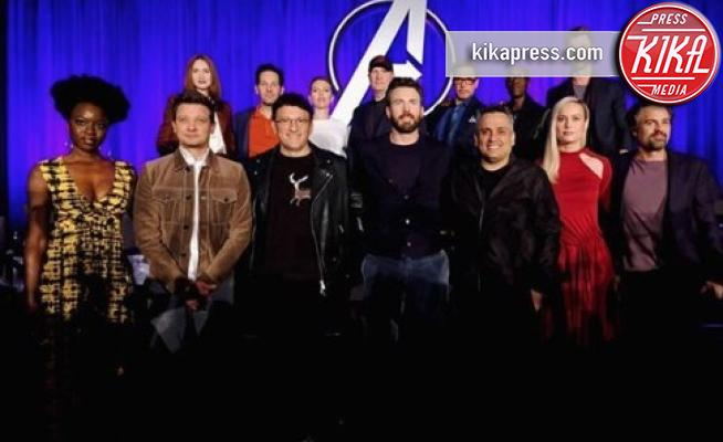 The Avengers - Hollywood - 07-04-2019 - Avengers: Endgame, la conferenza stampa coi protagonisti