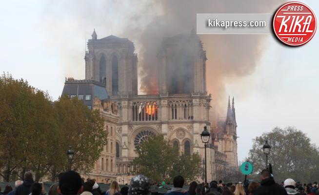 Notre Dame de Paris - Parigi - 15-04-2019 - Parigi, un incendio devasta la cattedrale di Notre Dame