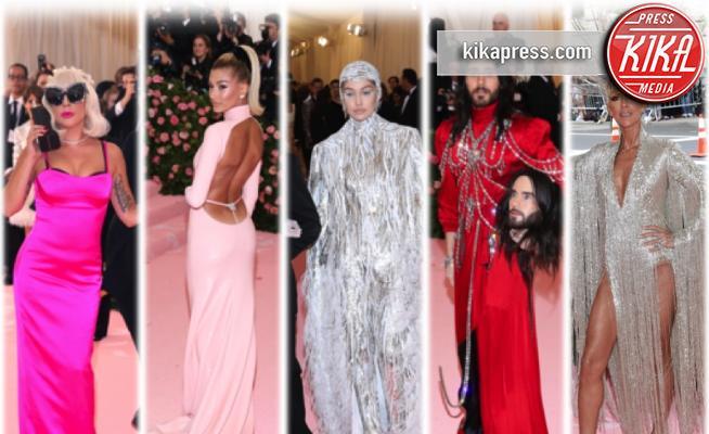 Gigi Hadid, Hailey Baldwin, Lady Gaga, Jared Leto, Celine Dion - 07-05-2019 - Met Gala 2019: ecco chi ha vestito chi