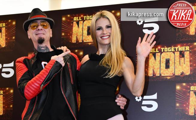 J-Ax, Michelle Hunziker - Milano - 14-05-2019 - Michelle Hunziker e J-Ax, tandem d'attacco per All together now