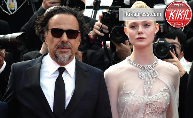 Alejandro Gonzalez Inarritu, Elle Fanning - Cannes - 25-05-2019 - Festival di Cannes 2019: l'ultimo red carpet
