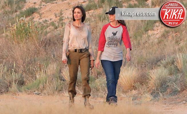 Angelina Jolie - Albuquerque - 20-06-2019 - Sangue e polvere: Angelina Jolie torna a sporcarsi