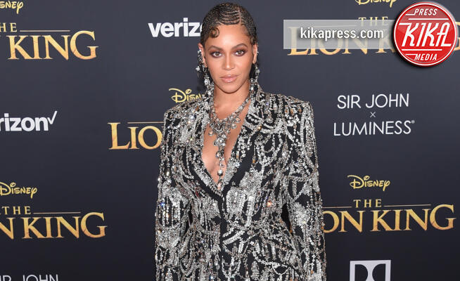 Beyonce Knowles - Hollywood - 09-07-2019 - Regina Beyoncé sul red carpet del Re Leone