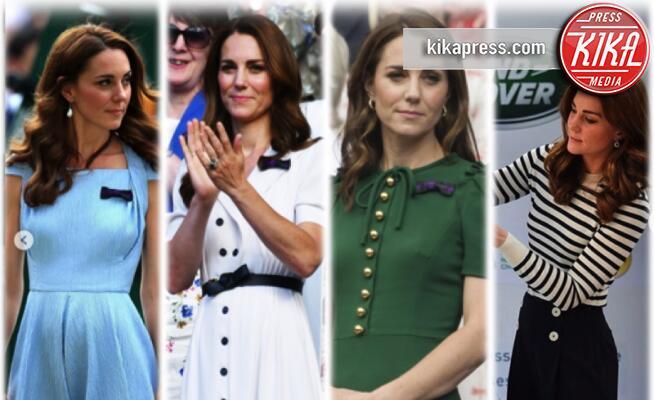 Kate Middleton - Wimbledon - 15-07-2019 - Kate Middleton stella di Wimbledon: tutti i suoi look