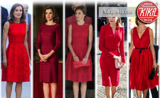 Letizia Ortiz - 24-07-2019 - Letizia di Spagna, la signora... pardon, la regina in rosso!