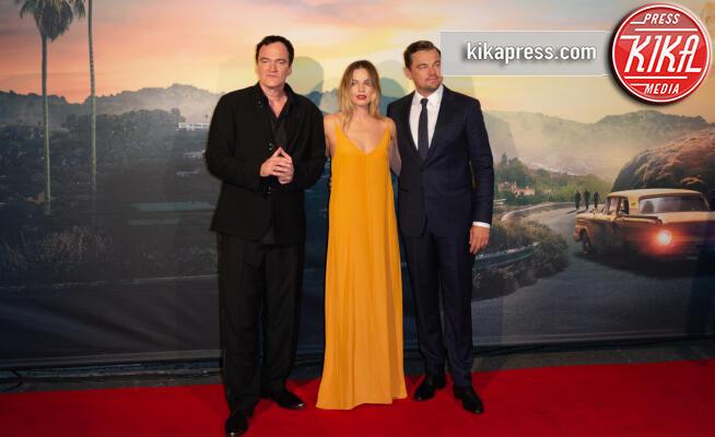Leonardo Di Caprio, Margot Robbie, Quentin Tarantino - Roma - 03-08-2019 - Roma ai piedi di Tarantino e Once Upon a Time… in Hollywood
