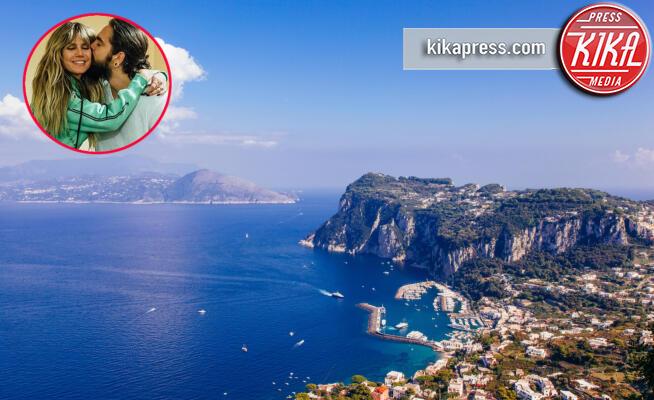 Tom Kaulitz, Capri, Heidi Klum - 12-05-2017 - Klum-Kaulitz & Co, le star che si sono sposate in italia