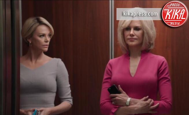 Charlize Theron, Nicole Kidman - Los Angeles - 22-08-2019 - Bombshell, l'incredibile trasformazione di Charlize Theron