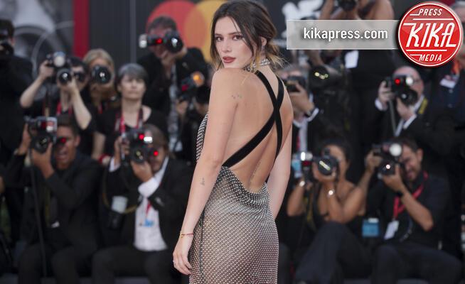 Bella Thorne - Venezia - 31-08-2019 - Venezia 76: scandalo Bella Thorne, sotto il vestito niente!