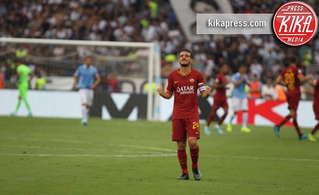 Alessandro Florenzi - Roma - 01-09-2019 - Lazio-Roma finisce 1-1: a Kolarov risponde Luis Alberto