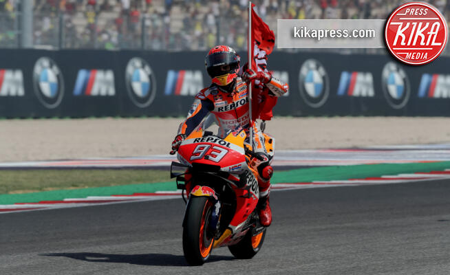 Marc Marquez - Rimini - 15-09-2019 - Misano: apoteosi Marc Marquez, vittoria all'ultimo respiro