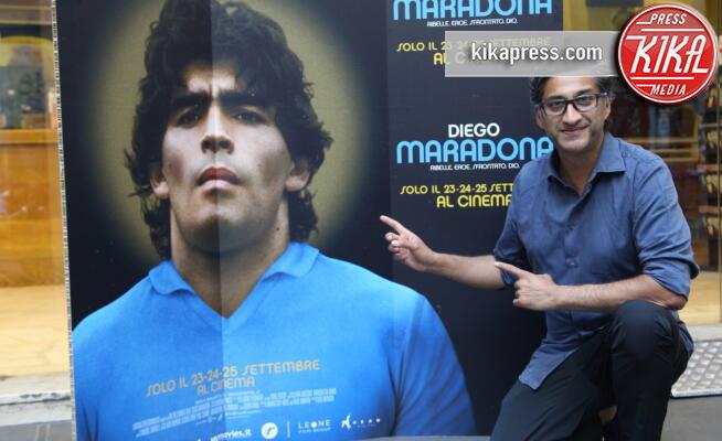 Asif Kapadia - Napoli - 16-09-2019 -  Asif Kapadia porta a Napoli il suo Diego Maradona