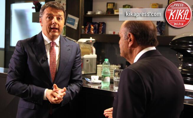 Matteo Renzi, Bruno Vespa - Roma - 17-09-2019 - Renzi a Porta a Porta, il nuovo partito si chiama Italia Viva