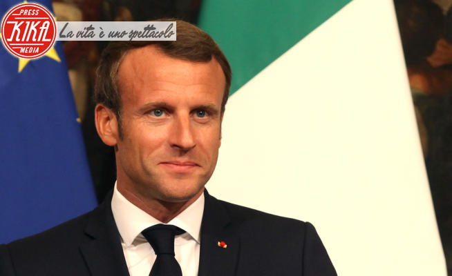 Emmanuel Macron - Roma - 18-09-2019 - Coronavirus, tutti i politici positivi al tampone